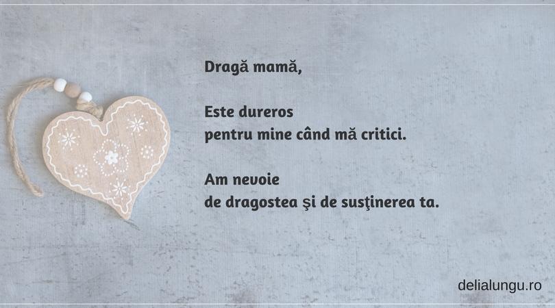mama critică