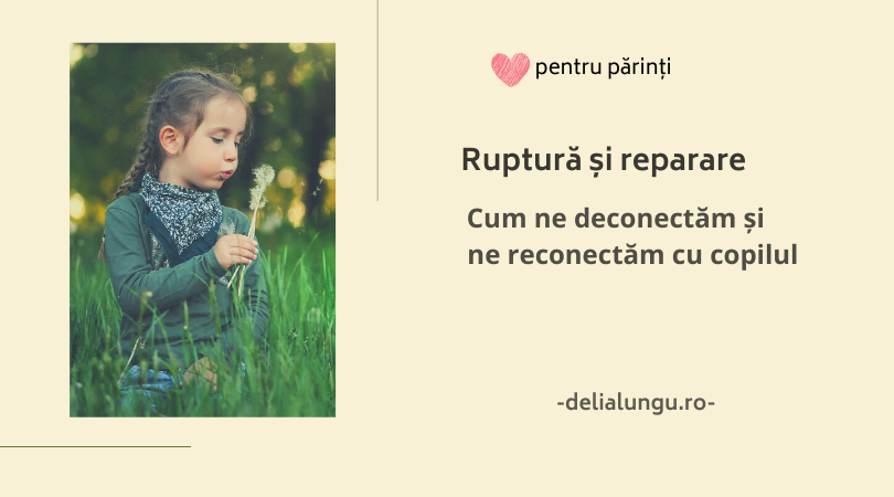 Repararea relației cu copilul